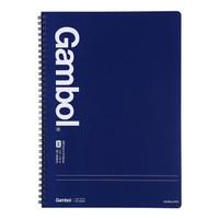 KOKUYO 国誉 Gambol GTN2552 双线圈笔记本 A4/50页 4本装 *5件