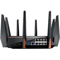 asus华硕GT-AC5300高速智能三频无线AC5300M千兆企业级路由器穿墙5Gwifi