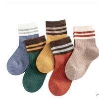 舒尼熊 儿童中筒袜   5双装