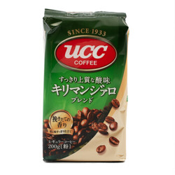 UCC悠诗诗 现磨咖啡粉 乞力马扎罗 200g *3件