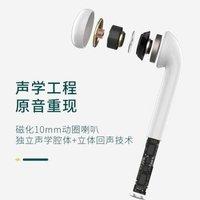 名创优品(miniso)真无线蓝牙耳机双耳适用于苹果华为小米 运动跑步入耳式oppo迷你商务手机耳机 K66-双耳