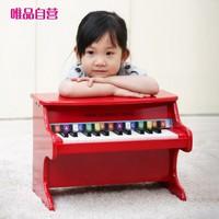 New Classic Toys 儿童玩具乐器电子琴音乐启蒙3岁+ 25键木质钢琴