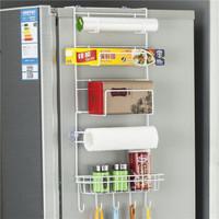 普拉度 多功能冰箱侧壁挂架六层