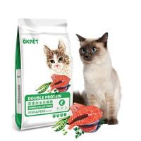 okpet 双蛋白全价猫粮 1.5kg