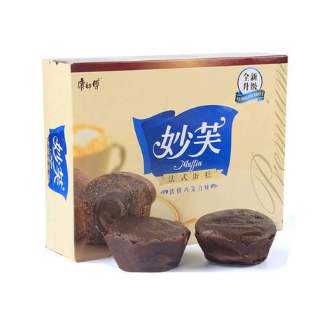 康师傅 妙芙 法式蛋糕 浓情巧g力味200g/盒 *8件