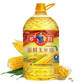 DUOLI 多力 甾醇 玉米油 3.68L *2件 +凑单品