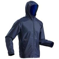 迪卡侬 户外运动保暖防水男式冲锋外套 QUECHUA JKT RAINWARM 50