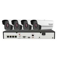 海康威视 DS-2CD3T56WD-I3 监控摄像头套装 4路