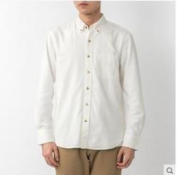MUJI 无印良品 M9AC526 男士衬衫