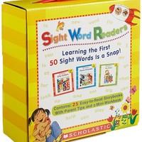 《Sight Word Readers 儿童英文常见词 家长指导套装》英文原版