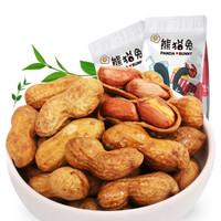熊猫兔 焦糖花生 带壳小花生 500g/袋 *11件
