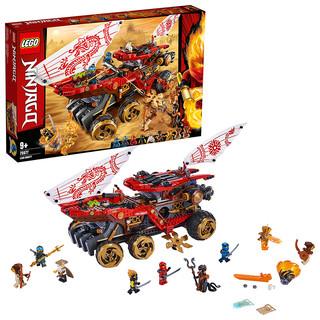 LEGO乐高 Ninjago幻影忍者系列 封赏之地战车70677 *3件