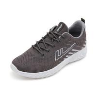 回力 男鞋运动鞋女鞋户外跑步鞋休闲鞋 WXY-L225C 灰色 39