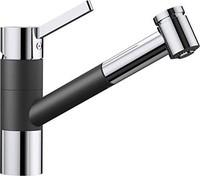 blancotivo-s ,高压力 Tap , silgranit ® -look 双饰面,无*煤 / 镀铬,517610