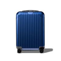 RIMOWA 日默瓦 Essential Lite系列 Cabin S 20寸/31L 聚碳酸酯拉杆箱/旅行箱 多色可选  20寸(31L) 823.52.60.4(Blue Gloss)