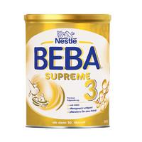 雀巢BEBA至尊版SUPREME两种HMO超高端婴幼儿奶粉3段800g/罐
