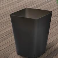 奇邦 黑色垃圾桶 小号 8L