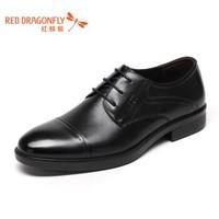 RED DRAGONFLY 红蜻蜓 WTA63481/82 男鞋牛皮革正装皮鞋 *2件