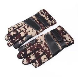 保暖滑雪手套 觸屏手套 迷彩手套防風加厚棉騎行騎車戶外手套 觸屏防滑防風手套 迷彩
