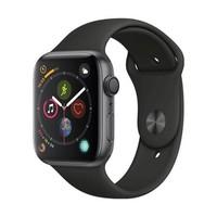 Apple Watch Series 4苹果智能手表(GPS款、44毫米、深空灰)表带+贴膜套装