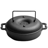 古记 多功能铸铁烤炉 22cm 小号