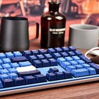吉利鸭 Ducky One2海岸线/天际线/地平线 德国Cherry轴机械键盘 游戏键盘  有线键盘 海岸线 108键 德国Cherry 茶轴