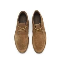 CAT 卡特彼勒 P718604H3GDR36 牛剖层革中帮休闲靴 *2件