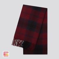 UNIQLO 优衣库 HEATTECH 420270 格纹围巾