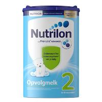 荷兰牛栏 诺优能荷兰版 Nutrilon海外 较大婴儿配方奶粉 易乐罐 2段800g/罐 *2件