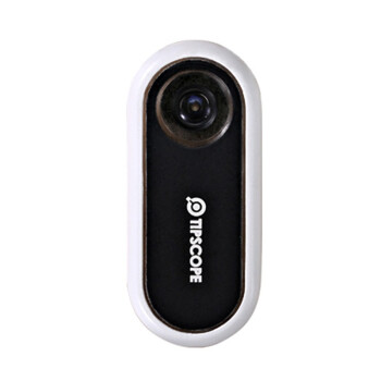 MOFT TIPSCOPE手机显微镜苹果安卓通用摄像头贴镜头贴 400倍放大镜超薄便携迷你高清皮肤镜 黑色【送2个随机切片】