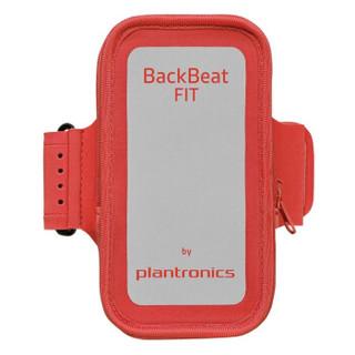 plantronics 缤特力 BackBeat FIT 无线运动立体声蓝牙耳机 音乐耳机 通用型 双边耳挂入耳式 熔岩红色