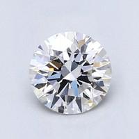Blue Nile 1.01克拉圆形切割钻石(切工EX 成色E色 净度VVS2)