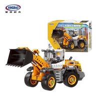 星堡积木 03035铲车装载车 工程车系列益智玩具积木