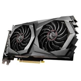 微星(MSI)魔龙 GeForce GTX 1650 SUPER GAMING X 4GD6 1650S旗舰款 电竞游戏台式电脑独立显卡