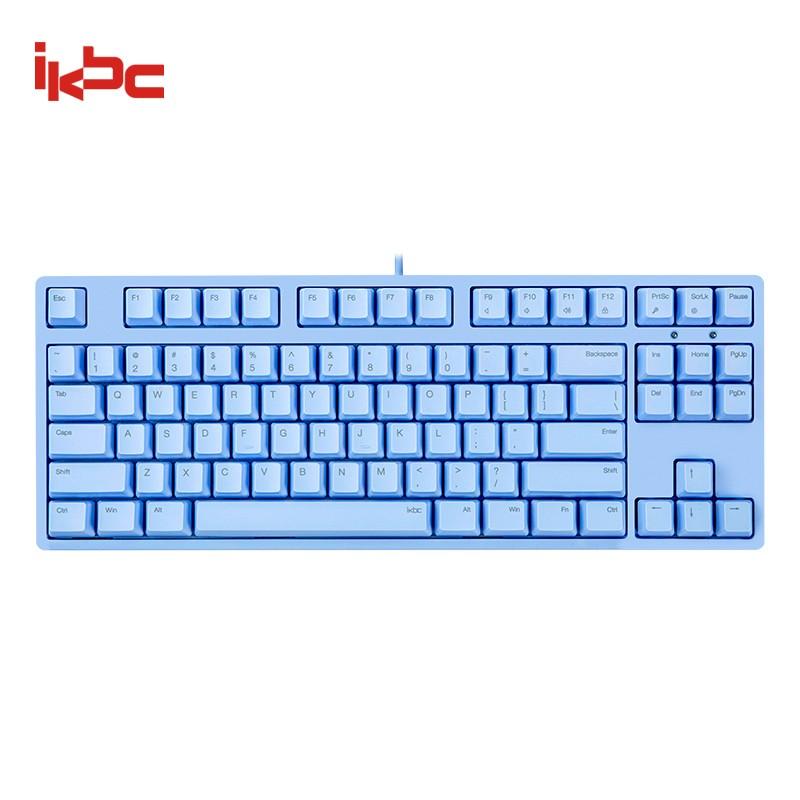 ikbc C200 机械键盘 87键 樱桃茶轴 蓝色