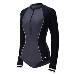 【省161元】SPEEDO 速比涛 8116028815 女士长袖连体泳衣-优惠购