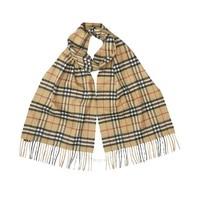 BURBERRY 博柏利 经典复古格纹羊绒围巾