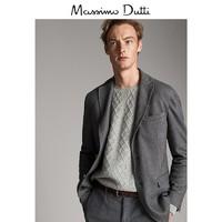 Massimo Dutti 02007460802 男士西装外套