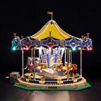 乐高(LEGO)积木  创意百变高手系列 游乐场主题 粉丝限量收藏 16岁+ 10257基础款改装灯饰(不含积木)
