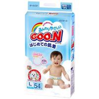 GOO.N 大王 维E系列 婴儿纸尿裤 L号 54片 *2件