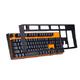 NOPPOO CHOC104键 有线机械键盘 全键无冲 单色不可拔插 红轴 129元