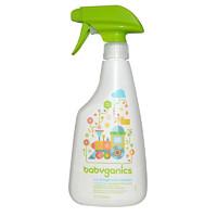 甘尼克宝贝(BabyGanics) 玩具多效清洁剂 儿童专用清洁剂 502ml