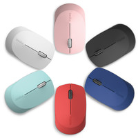 雷柏M100鼠标无线鼠标蓝牙鼠标便携MAC办公静音家用蓝牙无限鼠标