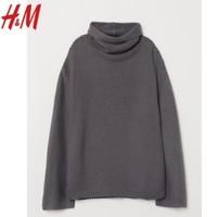 H&M DIVIDED 0645638 长袖高领毛衣