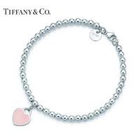 Tiffany&Co Return to Tiffany系列 30978811 粉色心形珠珠手链