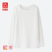 童装/男童/女童 HEATTECH EXTRA WARM圆领T恤(长袖)(温暖内衣)