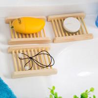 kavar 米良品 创意天然木质沥水肥皂架 2个装