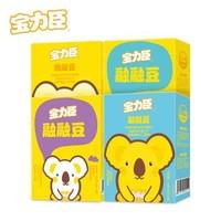 宝力臣宝宝零食酸奶溶豆 1原味+1黄桃味+1香蕉芒果味+1蓝莓味 *4件