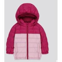 UNIQLO 优衣库 WARM PADDED 儿童轻型保暖外套