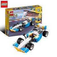 有券的上 : 乐高(LEGO) 创意百变三合一Creator系列 31072雷霆赛车